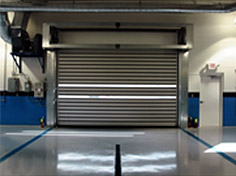 High Speed Coiling Solid Slat Doors